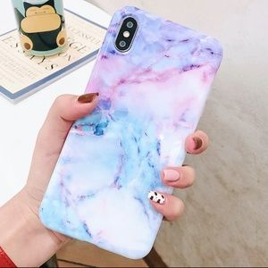 NEW iPhone 7/8 Watercolor Marble Case